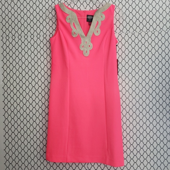 Vince Camuto Dresses & Skirts - Vince Camuto Neon Pink Short Dress